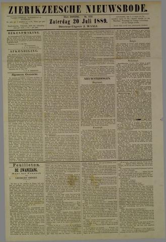 Zierikzeesche Nieuwsbode 1889-07-20