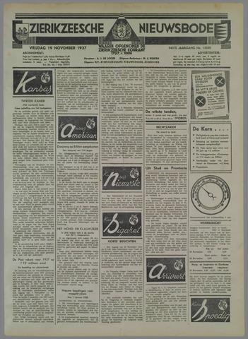 Zierikzeesche Nieuwsbode 1937-11-19