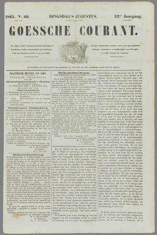 Goessche Courant 1865-08-08