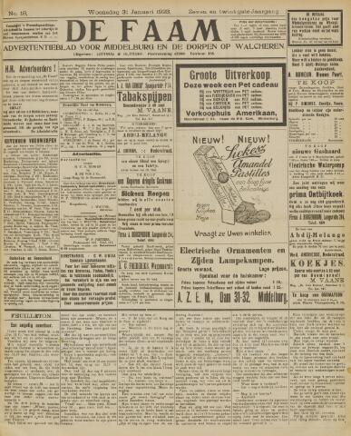 de Faam en de Faam/de Vlissinger 1923-01-31
