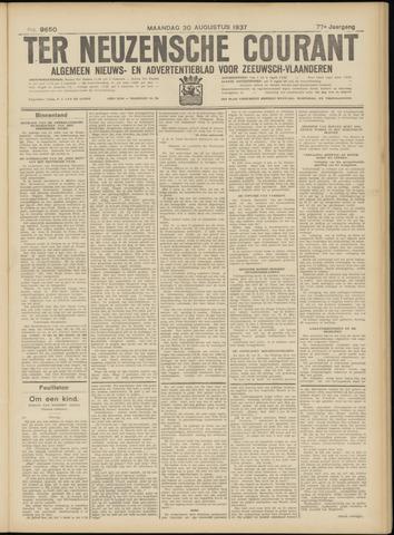 Ter Neuzensche Courant. Algemeen Nieuws- en Advertentieblad voor Zeeuwsch-Vlaanderen / Neuzensche Courant ... (idem) / (Algemeen) nieuws en advertentieblad voor Zeeuwsch-Vlaanderen 1937-08-30