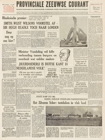 Provinciale Zeeuwse Courant 1965-11-09