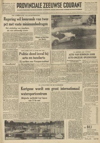 Provinciale Zeeuwse Courant 1957-05-15