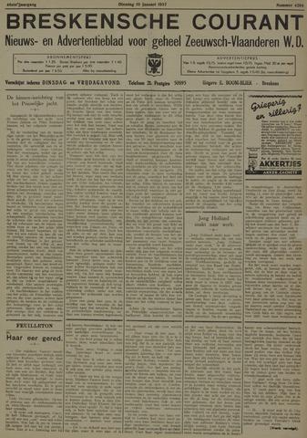 Breskensche Courant 1937-01-19