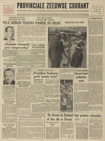 Provinciale Zeeuwse Courant 1962-07-06