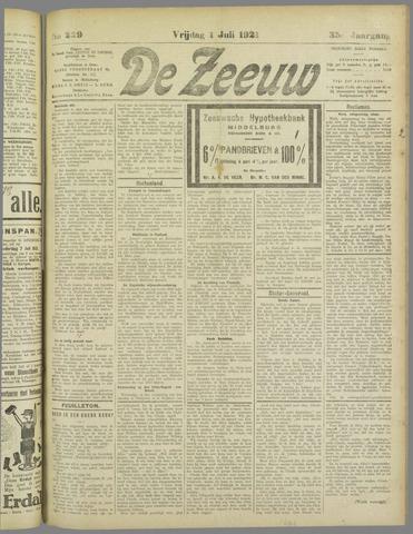 De Zeeuw. Christelijk-historisch nieuwsblad voor Zeeland 1921-07-01