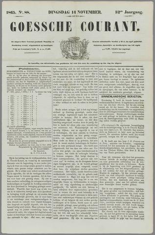 Goessche Courant 1865-11-14