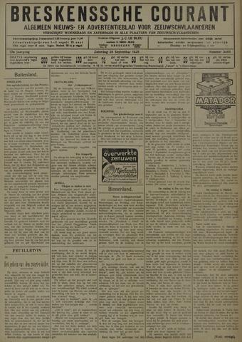 Breskensche Courant 1929-09-28