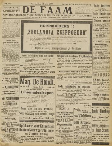 de Faam en de Faam/de Vlissinger 1923-05-16