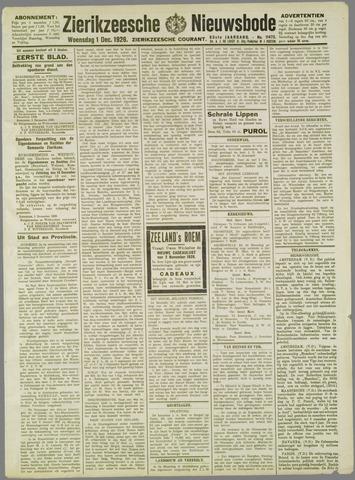 Zierikzeesche Nieuwsbode 1926-12-01