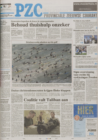 Provinciale Zeeuwse Courant 2006-09-18