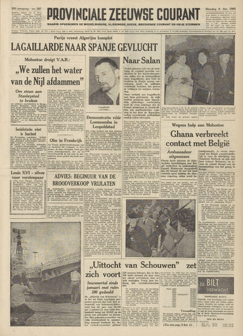 Provinciale Zeeuwse Courant 1960-12-06