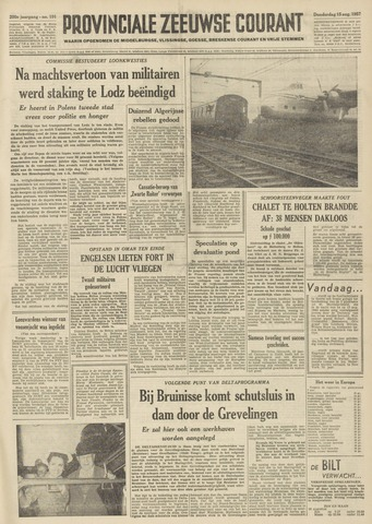 Provinciale Zeeuwse Courant 1957-08-15