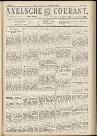 Axelsche Courant 1939-08-22