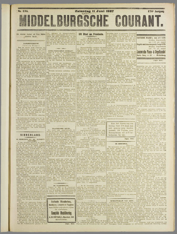 Middelburgsche Courant 1927-06-11