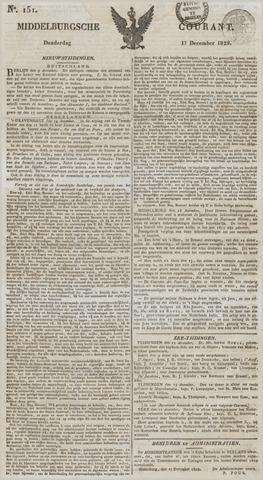 Middelburgsche Courant 1829-12-17