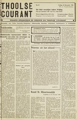 Ierseksche en Thoolsche Courant 1949-11-25
