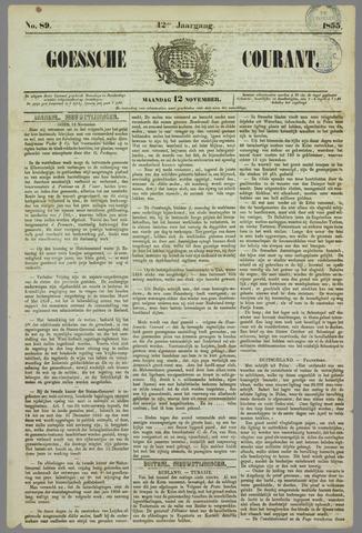 Goessche Courant 1855-11-12