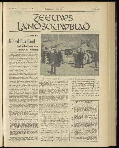 Zeeuwsch landbouwblad ... ZLM land- en tuinbouwblad 1961-07-01