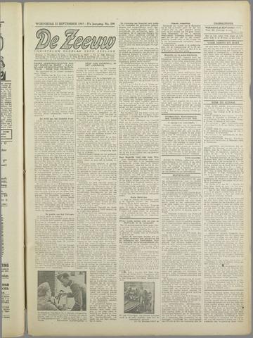 De Zeeuw. Christelijk-historisch nieuwsblad voor Zeeland 1943-09-22
