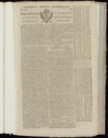 Middelburgsche Courant 1801-09-29