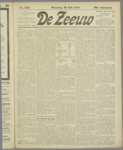 De Zeeuw. Christelijk-historisch nieuwsblad voor Zeeland 1916-07-31