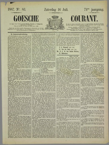 Goessche Courant 1887-07-16
