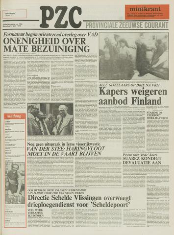 Provinciale Zeeuwse Courant 1977-07-12