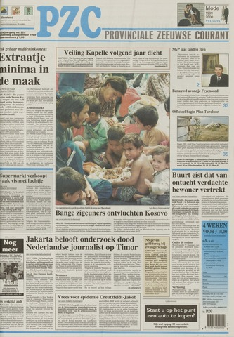 Provinciale Zeeuwse Courant 1999-09-23