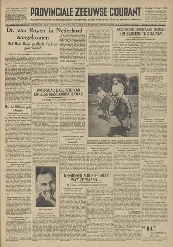 Provinciale Zeeuwse Courant 1949-08-09