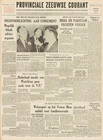 Provinciale Zeeuwse Courant 1965-09-16