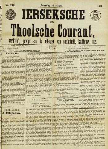 Ierseksche en Thoolsche Courant 1891-03-14