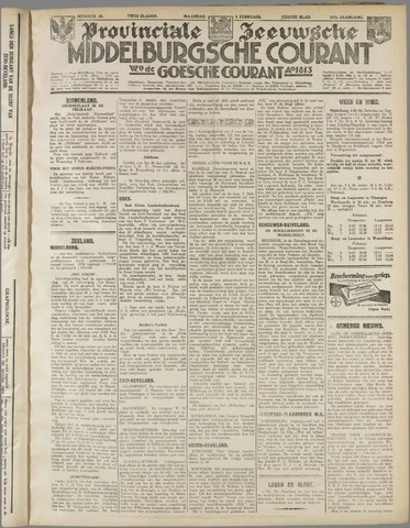 Middelburgsche Courant 1934-02-05