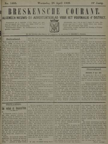 Breskensche Courant 1909-04-28