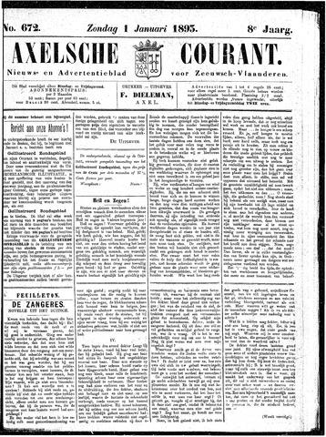 Axelsche Courant 1893