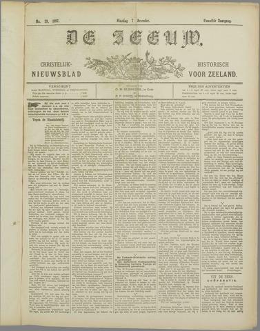De Zeeuw. Christelijk-historisch nieuwsblad voor Zeeland 1897-12-07