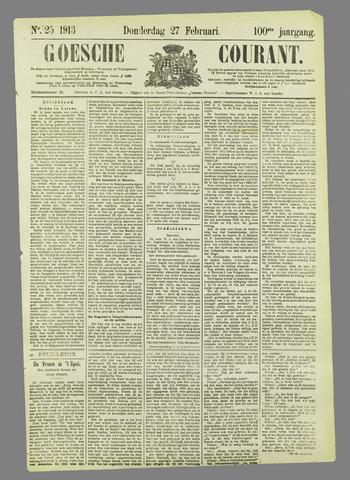 Goessche Courant 1913-02-27