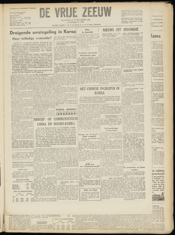 de Vrije Zeeuw 1950-12-07