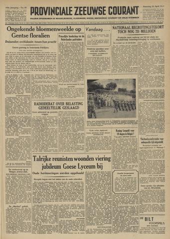 Provinciale Zeeuwse Courant 1950-04-24