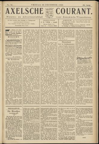 Axelsche Courant 1933-12-22