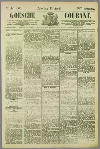 Goessche Courant 1908-04-18