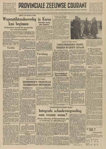 Provinciale Zeeuwse Courant 1953-04-18