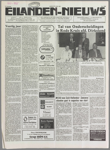 Eilanden-nieuws. Christelijk streekblad op gereformeerde grondslag 1985-04-19