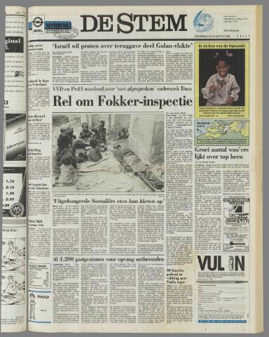 de Stem 1992-08-20