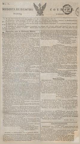 Middelburgsche Courant 1834