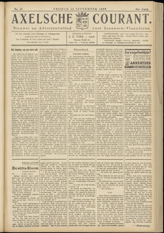 Axelsche Courant 1938-09-16