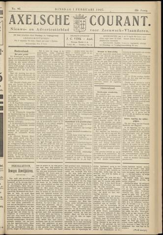 Axelsche Courant 1927-02-01