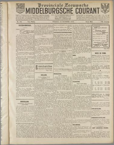 Middelburgsche Courant 1932-10-14