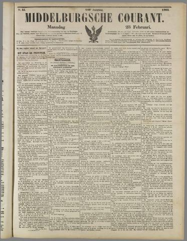 Middelburgsche Courant 1903-02-23