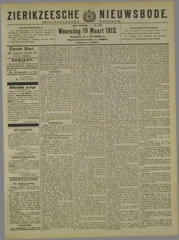 Zierikzeesche Nieuwsbode 1913-03-19